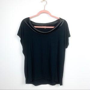 🌼2/$22🌼 Casual Short Sleeve Black Blouse